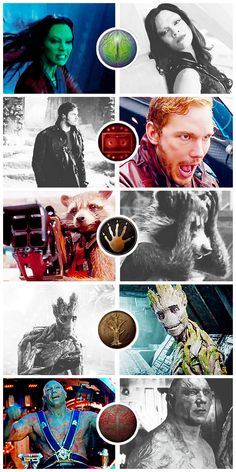 [gifset] They call themselves the Guardians of the Galaxy. #Marvel