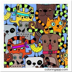 #doodlecoloring #doodlecoloringbook @coloringapp #coloringappcom #coloringappforadults #coloringforadults #coloringbook #coloring #Coloreando ando...
