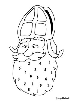 Een simpele, snelle telactiviteit in het thema Sinterklaas - 2 niveaus! - Lespakket