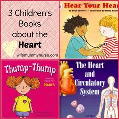 3 Children's Books about the Heart
