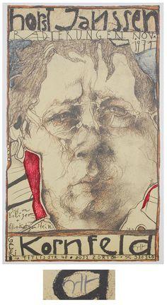 Horst Janssen (1929-1995) - 1971, Radierungen, Galerie Kornfeld
