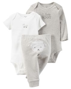 Looking for the perfect Carter's Cotton Baby Boys' Or Baby Girls' Little Lamb Bodysuits & Pants Set? Please click and view this most popular Carter's Cotton Baby Boys' Or Baby Girls' Little Lamb Bodysuits & Pants Set. Baby Girl Pants, Baby Boy Outfits, Kids Outfits, Girls Pants, Summer Outfits, Carters Baby Boys, Baby Kids, Baby Baby, Kids Girls