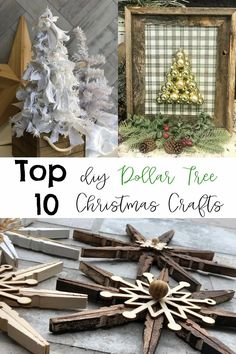 Top 10 Dollar Tree Christmas Projects - Re-Fabbed