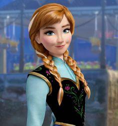 Anna Frozen realistic DeviantArt