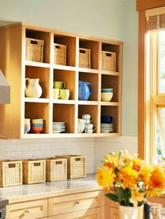 Creative ways to store dishes - Creative ways to store dishes