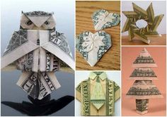 Giving cash money as a gift is a simple way to avoid having to find something to buy. Something you can easily do is find a few origami money ideas to use.