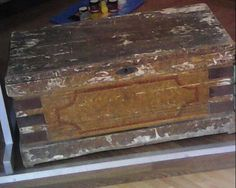 antique chest around 2ft wide by miablisscurios on Etsy, £45.00