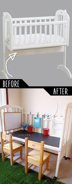 DIY Furniture Hacks    Repurposed Cot    Cool Ideas for Creative Do It Yourself Furniture Made From Things You Might Not Expect - http://diyjoy.com/diy-furniture-hacks
