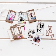 Instax Frames. Had no idea such a thing existed. I must have them. Along with a Fujifilm Instax camera.