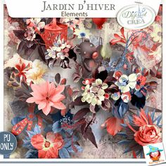 Collection Jardin d'Hivers by Kastagnette
