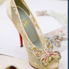 butterfly Louboutins