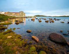 View of Visitor Orientation Centre , Red Bay National Historic Site   Flickr - Photo Sharing!