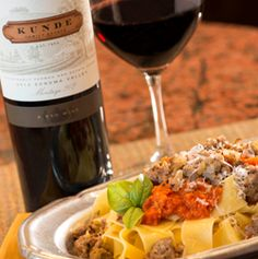 Roasted Tomato and Sausage Pasta - Pairs with Kunde Meritage 202 # ...