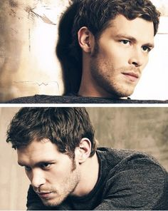 he can say SO much without speaking a word!!! just love Klaus