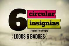 6 Vintage Insignia Logos Instant Download by Symufa on Etsy, $7.00