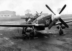 P-51B 43-12451 354 FG, 355 FS  Feb/Mar 1944