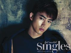 Taecyeon  ♡  #2PM - Singles Magazine August Issue 13