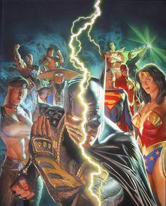 Mortal Kombat vs DC Universe by Alex Ross