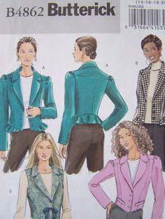 SALE Butterick B4862 Sewing Pattern  Women's by WitsEndDesign