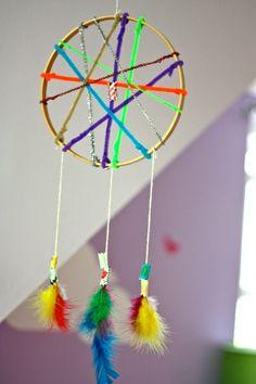 preschool dreamcatcher craft - Google Search