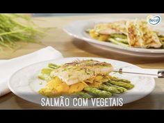 Salmão com Legumes - YouTube