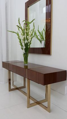 Join us and get inspired by the best selection of mid-century, retro, bohemian and modern styles consolet ables and sideboards for your living room decor inspiration. Find them all at http://essentialhome.eu/