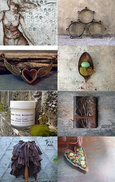 Nesting In Moss  by AbbyRose Donner on Etsy--Pinned with TreasuryPin.com