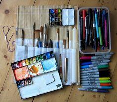 Equipment by Sue Hodnett, via Flickr