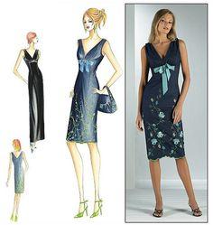 Gala Atelier Dressmaking and Designs: A night fantasy garden- Marfy dress pattern 9921