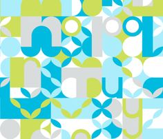 Design your own fabric, or pick from 100s of designs submitted by artists at Spoonflower.com