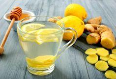 Água saborizada: beber água, principalmente água gelada, é fundamental para deixar o metabolismo em potência máxima. Outra dica é acrescentar ingredientes que deixem a água mais saborosa e poderosa, como o limão e o gengibre.  Fotografia: Thinkstock.