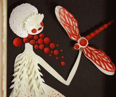 Paper art by Elsa Mora. (detail)
