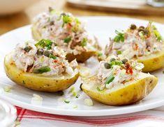 Backkartoffeln mit Thunfisch