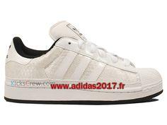 adidas Superstar II–Chaussures de running pour homme - Blanc - blanc, 8,5 EU