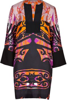 Etro Silk Printed Tunic Dress