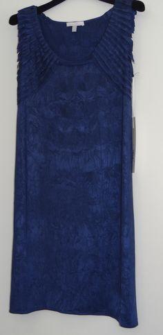 Vestido azul índigo