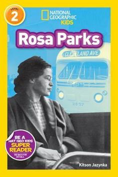 National Geographic Readers: Rosa Parks (Readers Bios) by Kindergarten Social Studies, Social Studies Activities, Rosa Parks Book, Free Books, Good Books, Super Reader, Mentor Texts, Read Aloud, The Life