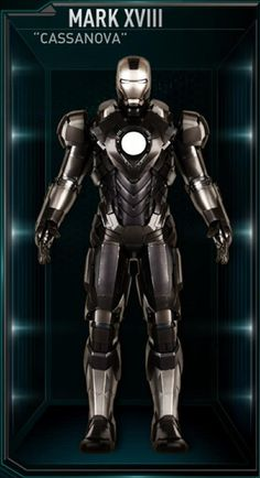 Iron Man Hall of Armors: XVIII - Cassanova