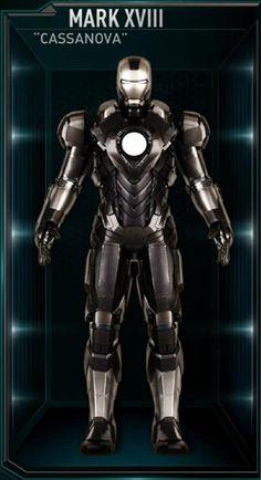 Iron Man Hall of Armors: XVIII - Cassanova