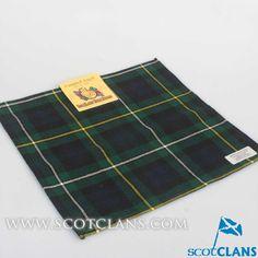 Campbell Modern Tartan Handkerchief