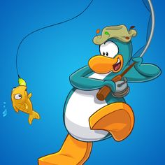 Gone Fishing | Club Penguin