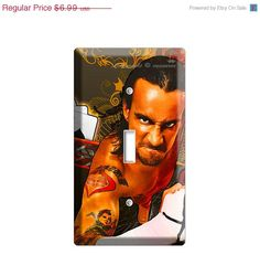 ON SALE NOW Cm Punk Jack Brooks professional by DecorLounge, $6.29 Cm Punk, Twin Comforter, Wwe, Comforters, Bedroom Ideas, Favorite Things, Room Decor, Boys, Handmade Gifts