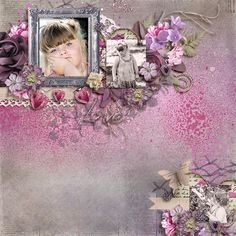 The Digichick :: Digital Kits :: Lost In Love - Page Kit