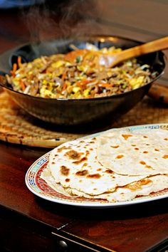 Moo Shu Pork with Homemade Pancakes8