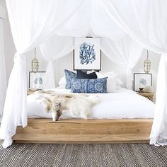 Coastal Bohemian Bedroom