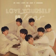 BTS LOVE YOURSELF ALBUM VERSION U #FAKELOVE Bts Love Yourself Poster, Love Yourself Album, Album Songs, Music Albums, Bts Face, Love Cover, Album Cover Design, Love Posters, Fake Love