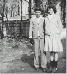 Elvis and his first girlfriend Mary Magdalene Morgan