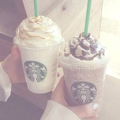 Starbucks with Camila!! ~luke