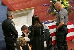 K9 police officer funeral ...