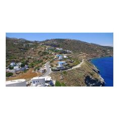 Kastro - Sifnos Picture Card